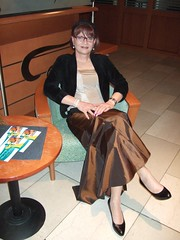 Hotel Lobby (Marie-Christine.TV) Tags: feminine transvestite lady mariechristine evening skirt ballgown abendrock tgirl tgurl tv