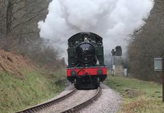 Dean Forest Railway, 15/03/17 (Aron Stenning) Tags: dfr deanforestrailway steam railway heritage steamrailway heritagerailway swjr severnwye severnwyerailway severnwyejointrailway gwr greatwesternrailway 4575 4575class smallprairie 5541 thefriendlyforestline