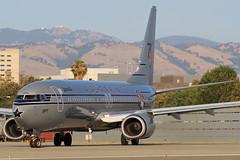 N569AS (NickFlightX) Tags: alaska plane airplane airport san jose international sjc boeing airlines 75 starliner 737 ksjc n569as