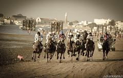 Carrera de caballos Sanlucar de Barrameda 2 (J.Guerrero) Tags: horse beach caballos playa run velocidad cádiz carreras sanlucardebarrameda galope