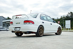 V3 STI RA (scooby-wrx) Tags: wrx sti subaru impreza gc8 type ra rally race street rays engineering volk ce28 cusco hks brace worldcars