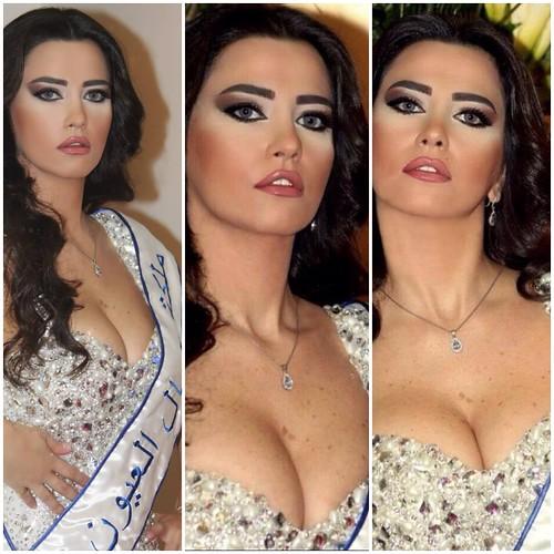 Miss Eyes  ملكة جمال العيون رنا خطار Rana Khattar Miss Lebanon
