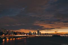 2014-08-02 20-24-55 (yoonski21) Tags: bridge sunset silhouette river asia dusk korea seoul kr 서울 한강 한국 대한민국 일몰 노을 실루엣 동작대교 서울특별시 nex7 yoonskiwithnex7 yoonski yoonskikorea yoonskiseoul 윤스키
