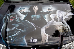 Paint job (Thunder1203) Tags: artwork hood airbrush paintjob carhood carbonnet