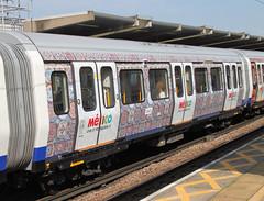 S Stock at West Ham (bowroaduk) Tags: tube londonunderground londontransport