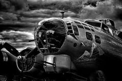 """Aluminum Overcast"" (Rodrigo Montalvo Photography) Tags: plane airplane nikon antique aviation wwii dramatic b17 ww2 bomber warplane b17bomber aluminumovercast d300 nikond300 rodrigomontalvo"