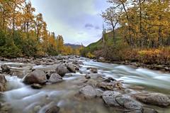 Soon To Be Ice (jack4pics) Tags: fall alaska river newsnow lilsu