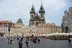 Praha (pineider) Tags: square europa czech boobs euro titts praha praga topless praag