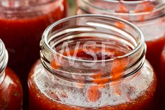 Strawberry jam in a jar macro (wsf-fl) Tags: red macro cooking breakfast strawberry rustic strawberries homemade ingredients jar jam preparation jams filling countryhouse ingredient conserve strawberryjam spreads woodentable inperfect jamcooking