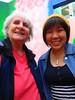 Ling Ling & Julie in London (Julie70 Joyoflife) Tags: london lingling photojuliekertesz