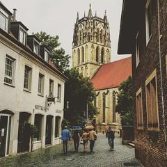 I ja torna a ploure, avui a #Münster