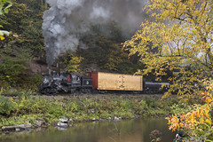 2015-10-03 1040 Swingy Bridge Runby 2, Moore- Keppel No. 3, Durbin, WV (jimkleeman) Tags: dgv climax climax3