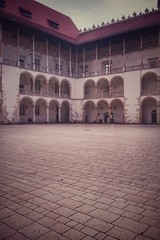 Royal Arena (LadyBiosphere) Tags: castle history europe sony royal poland wawel polish courtyard historic arena krakw cracow kazimierz zamek 2015 sonyxperia ladybiosphere sonyxperiaz3compact