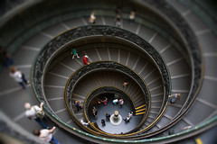 Museum Stairs (Quick_Snap_28) Tags: vaticano stairs rome vatican roma museum