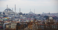 Istanbul (Turkey) (armxesde) Tags: architecture turkey cityscape pentax istanbul trkei ricoh mosques minarets k3