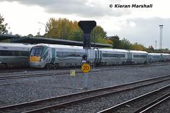 22050 arrives at Heuston, 15/10/15 (hurricanemk1c) Tags: dublin irish train rail railway trains railways irishrail rok rotem heuston 2015 icr iarnród 22000 22050 éireann iarnródéireann 3pce