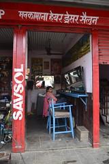 Nepal - Pokhara - Barber Saloon - 6 (asienman) Tags: nepal pokhara asienmanphotography