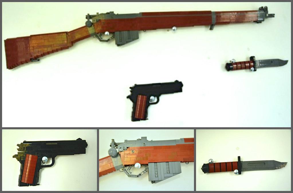 simple lego gun instructions