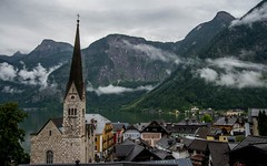 Hallstatt (05) (Vlado Ferenčić) Tags: clouds austria landscapes österreich cloudy lakes cities churches hallstatt nikond600 hallstattersee citiestowns castleschurches nikon2485284