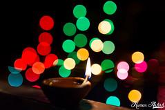 Deepawali Celebrations! (Ashk81) Tags: lamp festival hinduism deepawali shallowdepthoffield lightrings