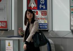 PB180428 (mr_nihei) Tags: girl station japan tokyo railway ota keikyu beaut zoshiki