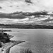 grey walk (nosha) Tags: arizona bw lake water monochrome beautiful beauty river landscape az coloradoriver lakehavasu