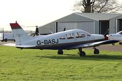 Private - Piper PA-28-180 Cherokee Challenger G-BASJ @ Kemble (Shaun Grist) Tags: airport aircraft aviation airline cherokee piper challenger aeroplanes kemble pa28 avgeek gbasj cotswoldairport
