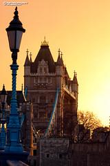 Tower Bridge sunset glow (Nigel Blake, 12 MILLION...Yay! Many thanks!) Tags: city uk bridge light sunset london tower tourism architecture site landmark glowing sight nigelblake nigelblakephotography