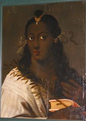 aseantoo submitted: Johan Boeckhorst Portrait of the Libyan Sibyl, Symbol of the South Wind Netherlands (1630) Oil on panel Noordelijk Scheepvaartmuseum [Source] (medievalpoc) Tags: art renaissance submission johan libyan 1600s sibyl medievalpoc aseantoo boeckhurst