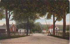 Ansichtkaart Overweg nabij het station Gorinchem (Uitg. M.A.F. Rotterdam) (Barry van Baalen) Tags: postcard ansicht gorinchem ansichtkaart spoorwegovergang