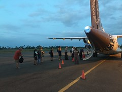 Domestic flight from Suva to Nadi!