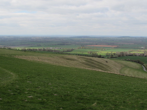 Uffington: White Horse Hill (Oxfordshire)