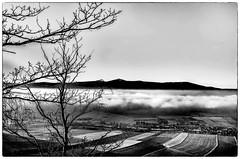 Krucza Skała Lubawka (ryszardparadowski) Tags: karkonosze kruczykamień śnieżka chmury mgły blackandwhite zalewbukówka czechy okraj rower zacler lubawka