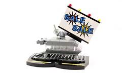 Frank's Office (Deltassius) Tags: microscale mobile frame zero terrain vingette lego sci fi dealership