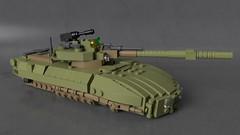 Hovertank L-11 (Sunder_59) Tags: lego moc render blender3d mecabricks tank hovertank scifi military vehicle transport weapon