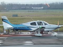 G-CKNH Cirrus SR22 (Aircaft @ Gloucestershire Airport By James) Tags: gloucestershire airport gcknh cirrus sr22 egbj james lloyds