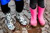 Wet (Harry McGregor) Tags: 52in2017 wet wellingtons muddy rain boots wellies footwear outdoor mud puddle starwars theforceawakens grandchildren