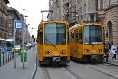 BKK 1535 & 1541 (Will Swain) Tags: blaha lujza tér budapest 7th november 2016 tram trams light rail railway rails transport travel europe hungary east eastern county country central capital city centre bkk 1535 1541