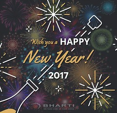 Wish you all a Happy New Year 2017 (bhartieye) Tags: bharti eye eyecare delhi services foundation hospital happy new year 2017