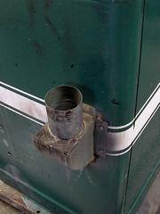 Dust port (simonov) Tags: powermatic houdaille disc sander model30 vintage machinery woodworking tools