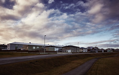 Cloudy Skies over Keflavík (bacon.dumpling) Tags: keflavík iceland cloud cloudy dusk house landscape nikond750 nopeople nobody outdoor path road sigma24mmf14dghsmart sky