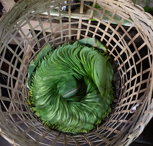 Betel leaves at the Manisithu Market