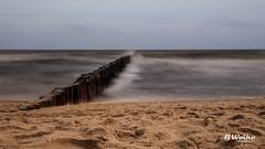 Smooth Water (B. Weihe Photography) Tags: strand beach wasser meer usedom koserow buhne benjamin weihe b photography canon eos 700d osteebad