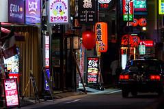 Tsubaki-cho, Meieki W, Nagoya (kinpi3) Tags: 名古屋 japan nagoya night street meieki tsubakicho eosm ef200mm