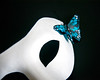004/365 - 2017 (amarie365) Tags: 4 4365 365project dayfour day4 butterfly blue mask white black