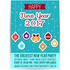 free vector Happy New year 2017 & Christmas Party Greeting Card (cgvector) Tags: 2017 3d abstract background ballon banner blue card carnival celebrate celebration colorful confetti countdown creative date december decoration design entertainment eve event festival festive fun greetings happiness happy holiday invitation new newyear orange paper party poster red ribbon surprise text type typography vacation vector wallpaper white wishes xmas year years yellow