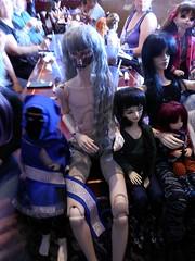 Royal Buffet Meet 092015 (LupusDarkmoon) Tags: bjd abjd balljointeddoll asianballjointeddoll doll dollmeet bjdmeet fairyland lalegendedetemps dollshe