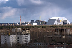 Chinese and Germans investors seek to Turn Chernobyl Wasteland to Solar Park (karo4greatness) Tags: formersovietunion chernobyl concrete misfortune damaged environment architecture ukraine russia autumn station residentialdistrict town pollution dosimeter