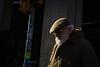 Bologna, 2016 (Antonio_Trogu) Tags: streetphotography candid urban antoniotrogu nikonafs35mm18 nikond3100 2016 italia italy bologna emiliaromagna emilia uomo man barba beard bianca white cappello berretto hat inverno winter