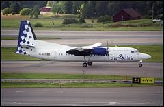 YL-BAS - Stockholm Arlanda (ARN) 22.08.2001 (Jakob_DK) Tags: 2001 arn essa stockholm arlanda stockholmarlanda bti baltic airbaltic fokker fokker50 fk50